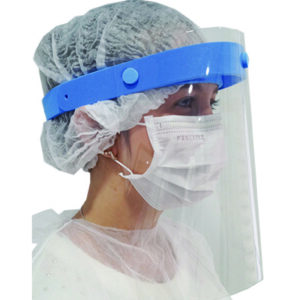 Face Shield azul