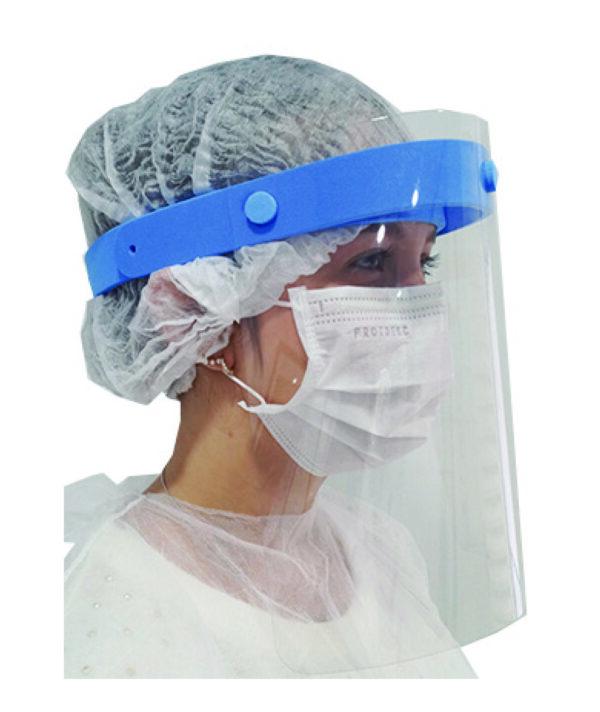 Face Shield azul