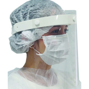 Face Shield branco