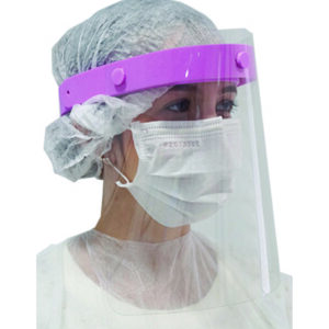 Face Shield rosa